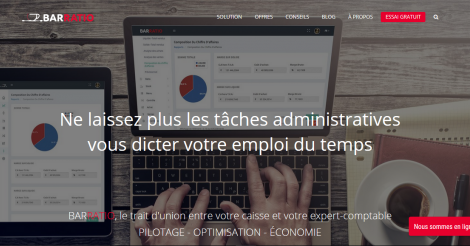 Startup <h3>BARRATIO</h3> France French Tech