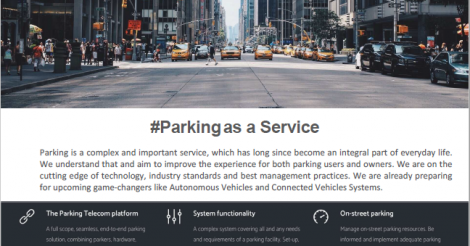 Startup <h3>Parking Telecom</h3> France French Tech