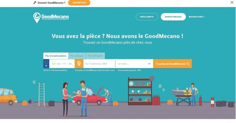 Startup <h3>GoodMecano</h3> France French Tech