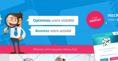 Startup <h3>WilyNet</h3> France French Tech