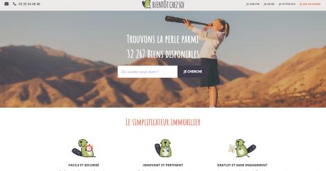 Startup <h3>Bientôt Chez Soi</h3> France French Tech