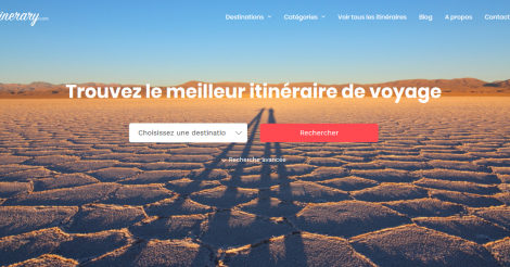 Startup <h3>Best-itinerary</h3> France French Tech