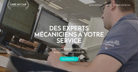 Startup <h3>Care My Car</h3> France French Tech
