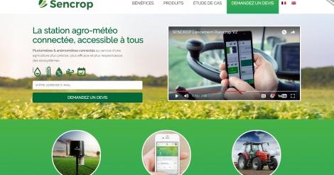 Startup <h3>Sencrop</h3> France French Tech