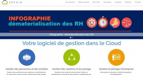 Startup <h3>Zéphir</h3> France French Tech