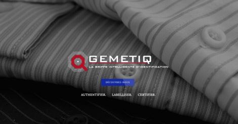 Startup <h3>GEMETIQ</h3> France French Tech