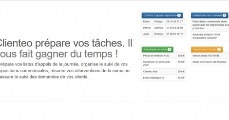 Startup <h3>Clienteo</h3> France French Tech