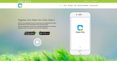 Startup <h3>Clean City</h3> France French Tech