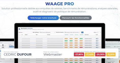 Startup <h3>Waage Pro</h3> France French Tech