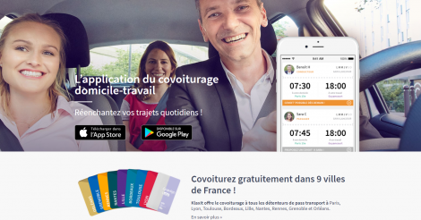 Startup <h3>Klaxit</h3> France French Tech