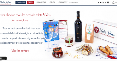Startup <h3>Mets Vins</h3> France French Tech