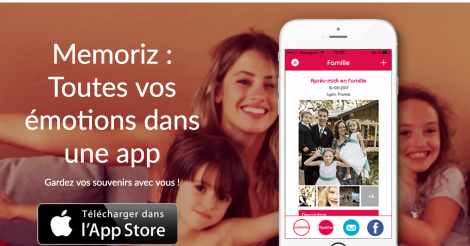 Startup <h3>Memoriz</h3> France French Tech