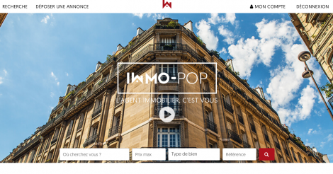 Startup <h3>Immo-pop.com</h3> France French Tech