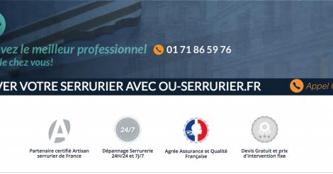 Startup <h3>Ou Serrurier</h3> France French Tech