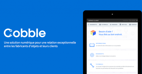 Startup <h3>Cobble</h3> France French Tech