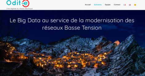 Startup <h3>ODIT-E</h3> France French Tech
