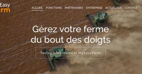 Startup <h3>MyEasyFarm</h3> France French Tech