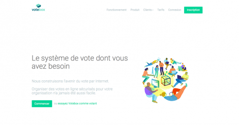 Startup <h3>Votebox</h3> France French Tech