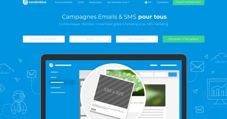 Startup <h3>SendinBlue</h3> France French Tech