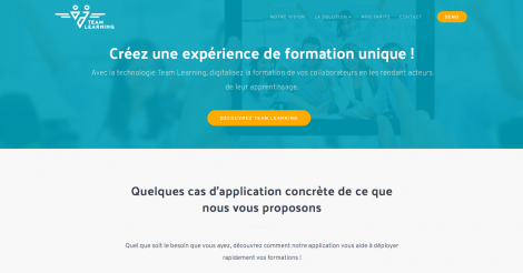 Startup <h3>Team Learning</h3> France French Tech