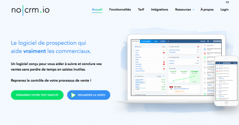 Startup <h3>noCRM.io</h3> France French Tech