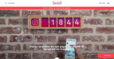 Startup <h3>Smiirl</h3> France French Tech
