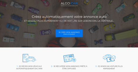 Startup <h3>Algocar</h3> France French Tech