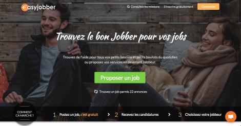 Startup <h3>Easyjobber</h3> France French Tech