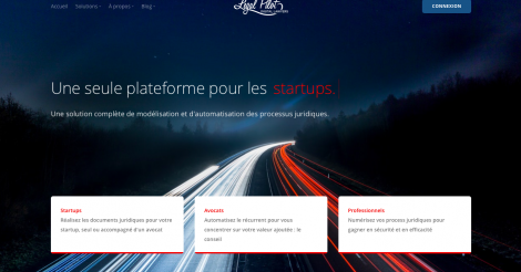 Startup <h3>Legal Pilot</h3> France French Tech