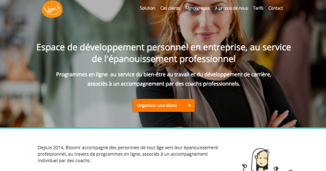 Startup <h3>Bloomr</h3> France French Tech