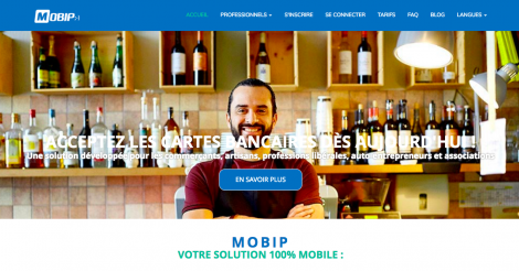 Startup <h3>MOBIP </h3> France French Tech