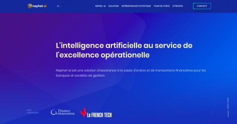 Startup <h3>Nephel-ai</h3> France French Tech