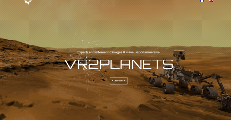 Startup <h3>VR2Planets</h3> France French Tech