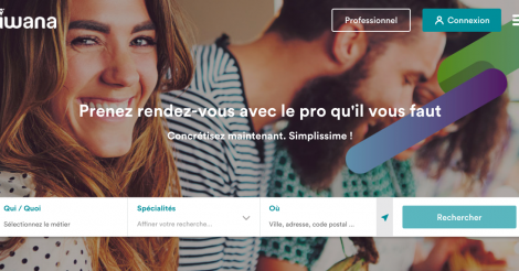 Startup <h3>Iwana</h3> France French Tech