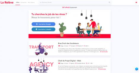 Startup <h3>La Relève</h3> France French Tech