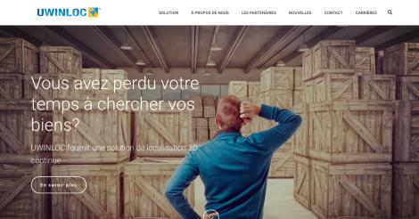 Startup <h3>Uwinloc </h3> France French Tech