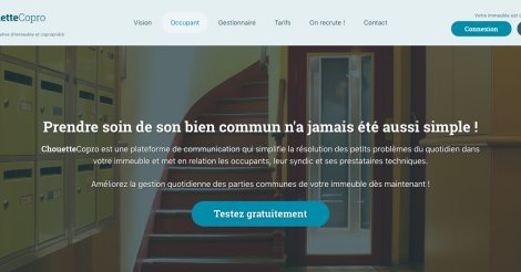 Startup <h3>Chouettecopro</h3> France French Tech