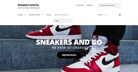 Startup <h3>SNEAKERS AND GO</h3> France French Tech