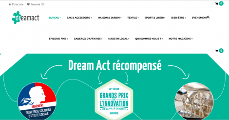 Startup <h3>Dream Act</h3> France French Tech