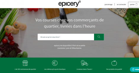 Startup <h3>Epicery</h3> France French Tech