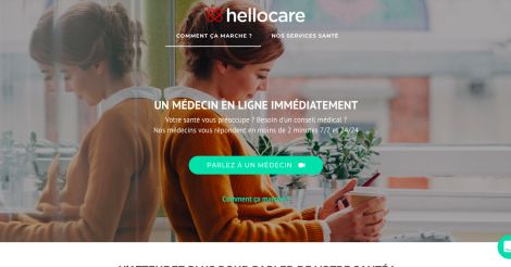 Startup <h3>Hellocare</h3> France French Tech