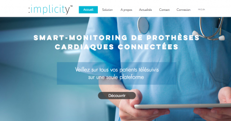 Startup <h3>Implicity</h3> France French Tech