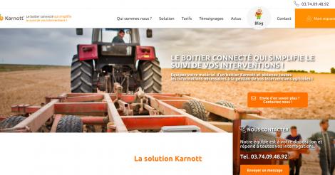 Startup <h3>Karnott</h3> France French Tech
