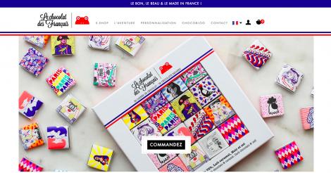 Startup <h3>Le chocolat des Français </h3> France French Tech