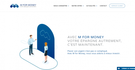 Startup <h3>M for Money</h3> France French Tech