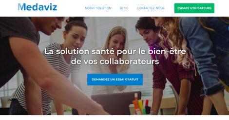 Startup <h3>Medaviz</h3> France French Tech