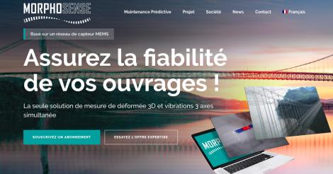 Startup <h3>Morphosense</h3> France French Tech