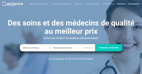 Startup <h3>Doctiprice</h3> France French Tech