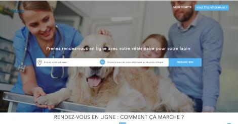 Startup <h3>VETOLIB</h3> France French Tech