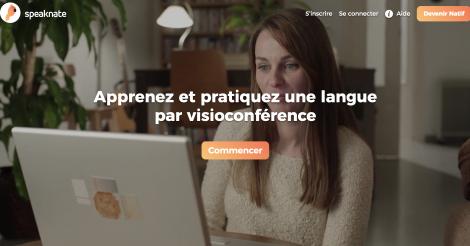 Startup <h3>Speaknate</h3> France French Tech